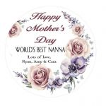 Mother's Day Flower Plaque 1